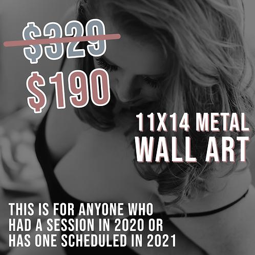 11x14 Metal Wall Art