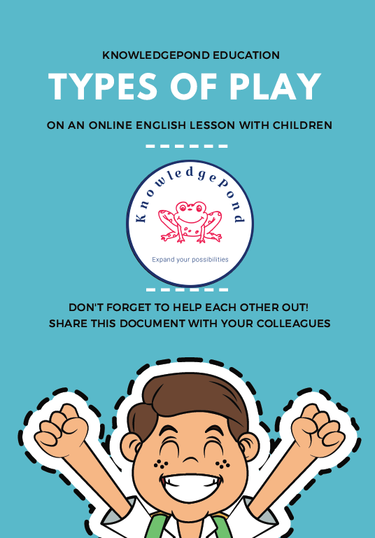 Collection of games for English lessons online