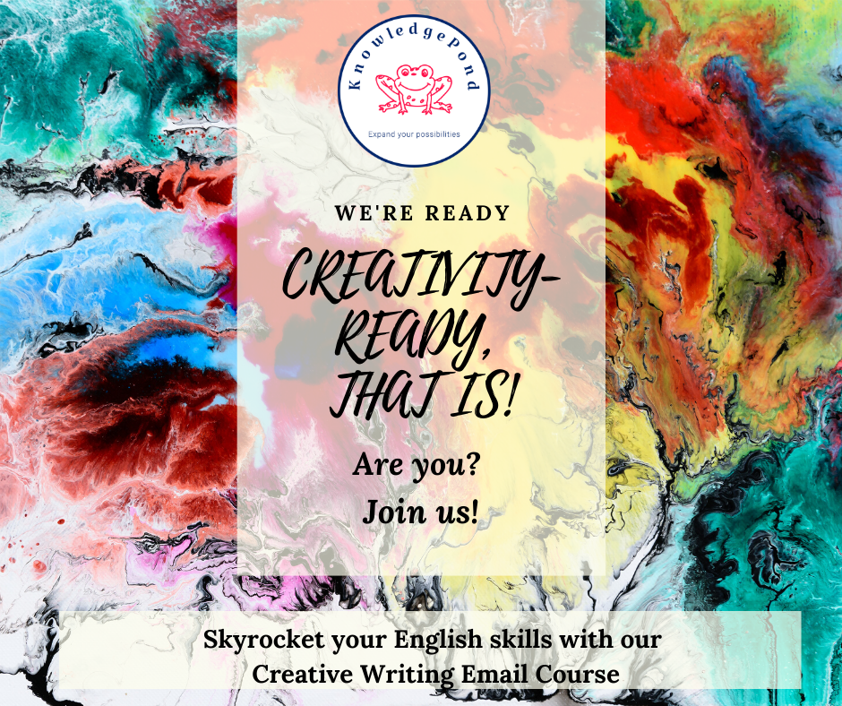 Improve your English with Creative Writing