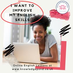 I want to improve my English skills