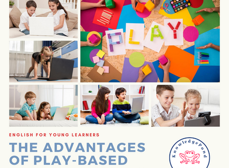 The advantages of play-based English lessons in early childhood