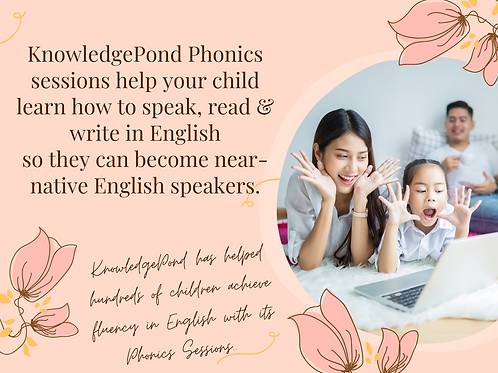 Phonics Sessions - 20 Lessons Bundle