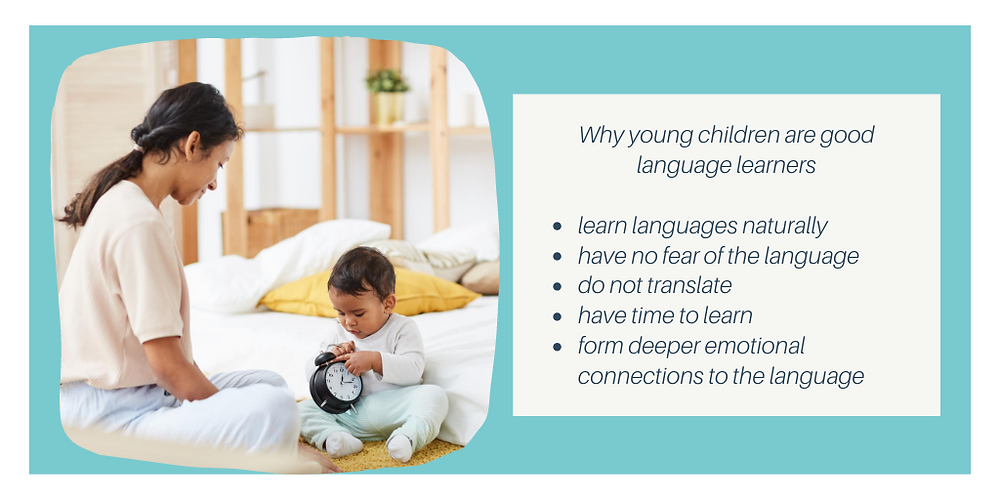 Why young children are good language learners?