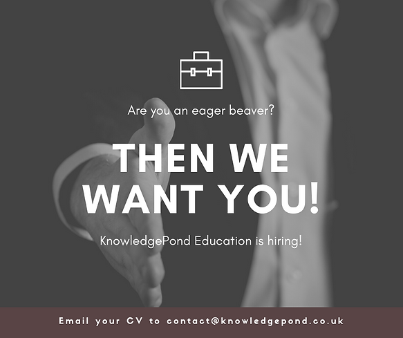 KnowledgePond Education is hiring!.png