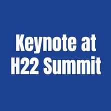 Keynote at H22 Summit