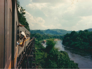 Bamboo Heart Inspirations: My Travels: Bridge on the River Kwai trip 1988