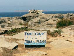 Just take your trash.