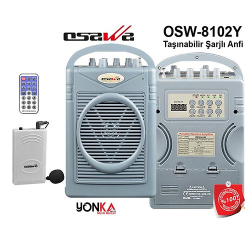 Osawa Osw-8102Y Seyyar Portatif Şarjlı Mevlüt Anfisi