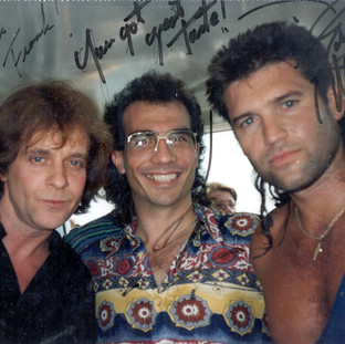 EDDIE MONEY & BILLY RAY CYRUS in NASHVILLE
