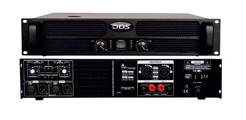 DDS D-4000 2 Ohm 2x1200W/4 ohm Power Anfi