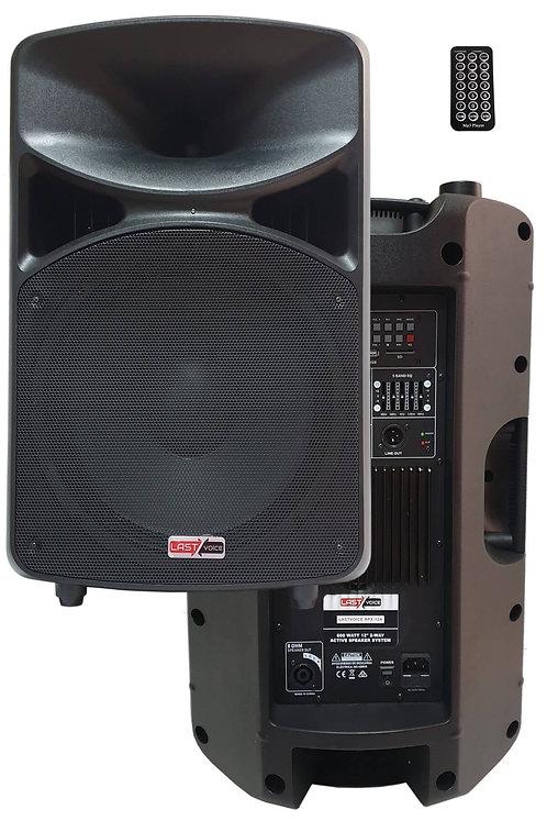 Lastvoice RPX-12A Aktif Kabin Hoparlör 12'' 600W (Bluetooth USB Ekolayzer)