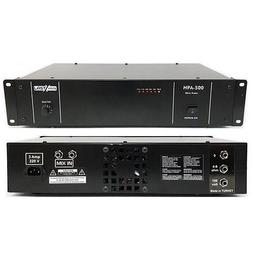 Lastvoice Hpa-350 Power Anfi 350 Watt 100V Hat Trafolu