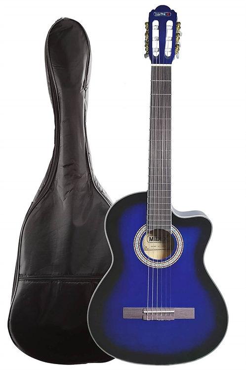 Midex MGX-100CBL Üst Seviye Klasik Gitar 4/4 Sap Ayarlı Gül Klavye