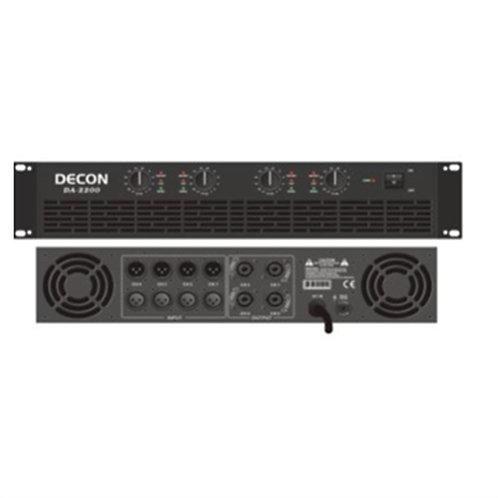 DECON DA-2200 4x300 Watt Power Amfi