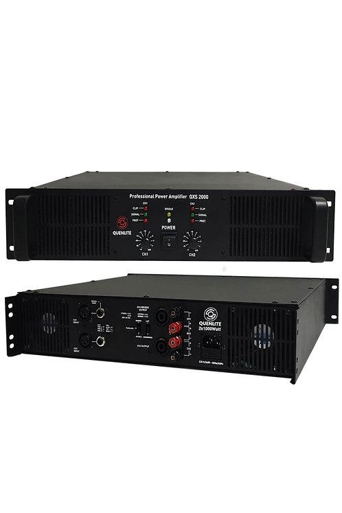 Quenlite QXS-2000 Profesyonel Power Güç Anfisi 2000 Watt (2x1000W)