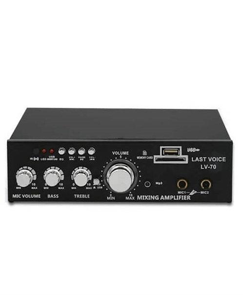 Lastvoice Lv-70 Stereo Anfi 2x35 Watt Usb-Sd 220V/12V