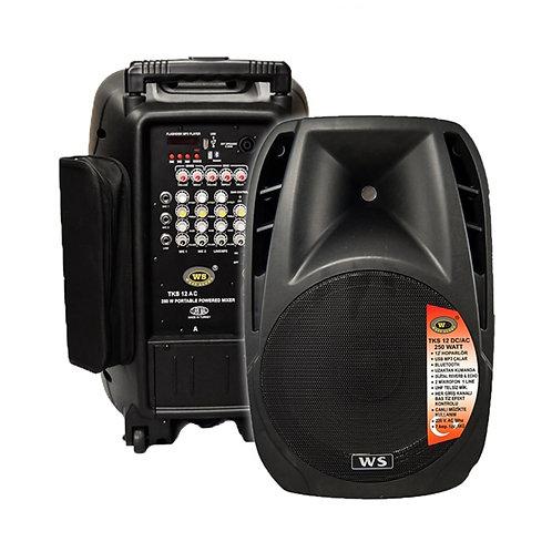 West Sound Tks 12 Aç - Bluetooth Aktif Hoparlör Kablosuz Mikrofonlu