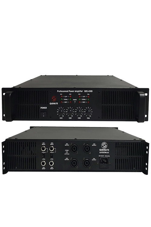 Quenlite QXS-4500 4 Çıkışlı Power Güç Anfisi 2000 Watt (4x500W)
