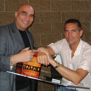 Jim Caviezel - known for his role as Jesus in The Passion