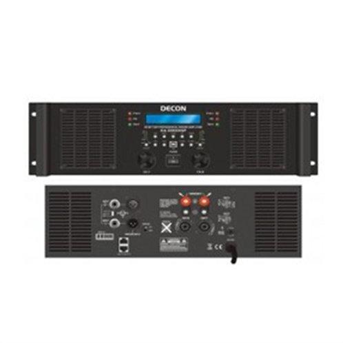Decon Dp-2200 Power Anfi 2x200W 70/100 Volt 4-16 Ohm