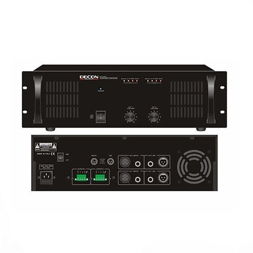 Decon Dp-2300 Power Anfi 2x300W 70/100 Volt 4-16 Ohm