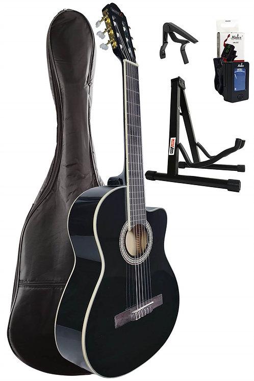 Midex MGX-100CBK SET Üst Seviye Klasik Gitar 4/4 Sap Ayarlı
