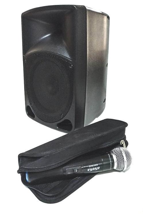 Aneka RS75-WR Seyyar Portatif Ses Sistemi Reverbli Telsiz Mikrofo
