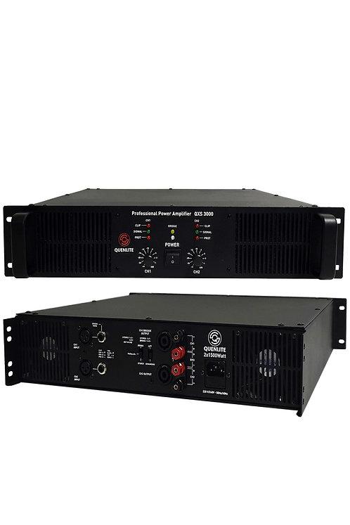 Quenlite QXS-3000 Profesyonel Power Güç Anfisi 3000 Watt (2x1500W)