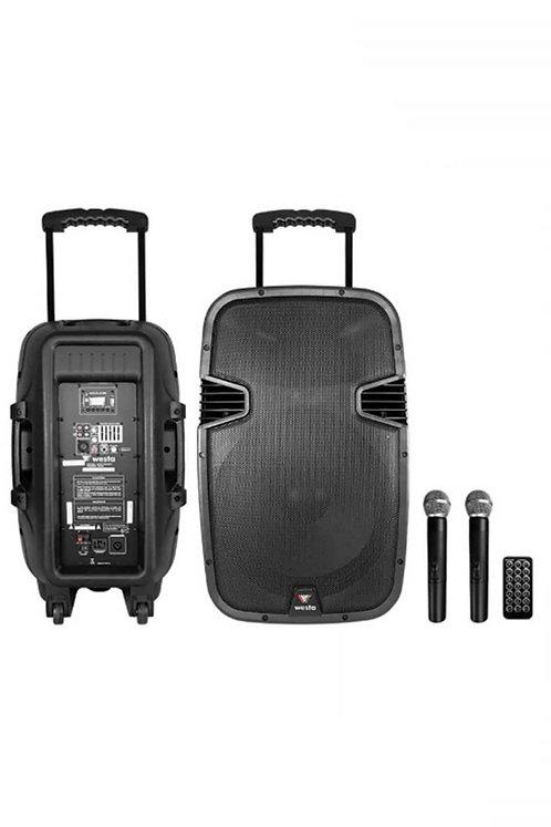 Westa Wap-25502T Taşınabilir Hoparlör Ses Sistemi 600 Watt