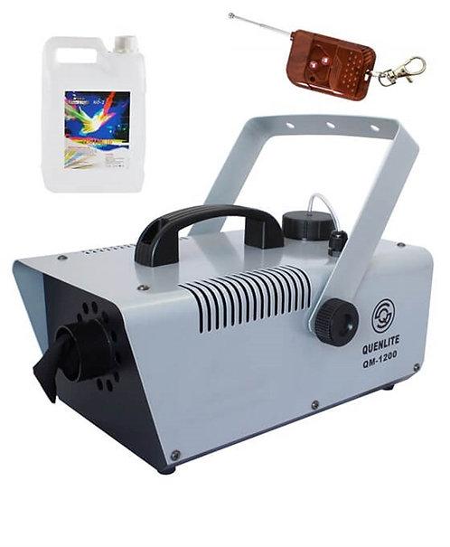 Quenlite QM-1200LK Kar Makinası 1200 Watt + 5 Litre Likit