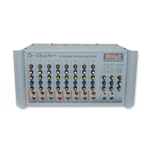 Best AN500S Anfi 2x500 Watt 8 Kanal Ekholu
