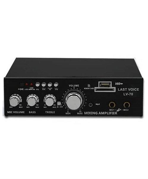 Lastvoice 70 Watt Stereo Anfi Usb Mp3