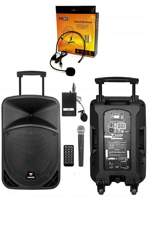 Westa Wap-22502EH Taşınabilir Hoparlör Ses Sistemi 400 Watt