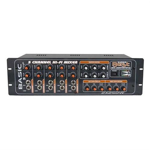 Best AN2250 Stereo Anfi 2x250 Watt 5 Mikrofon Girişli