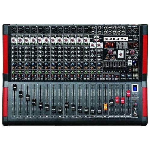 DDS D-16 P-4000FX Power Mikser Amfi 2x2000 Watt 12 Kanal