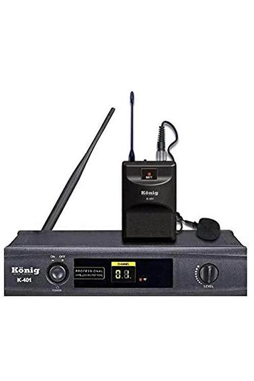 König K-401 Kablosuz Yaka Mikrofon