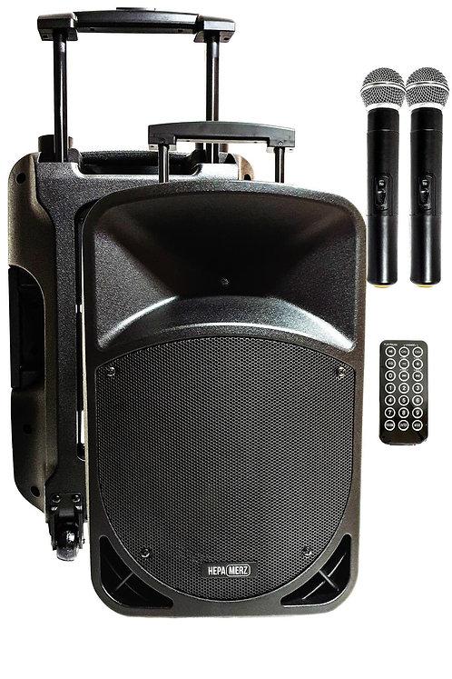 Hepa Merz HS-800EE Taşınabilir Hoparlör Ses Sistemi 800 Watt