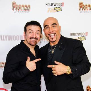 Carlos Oscar - famous comedian & friend