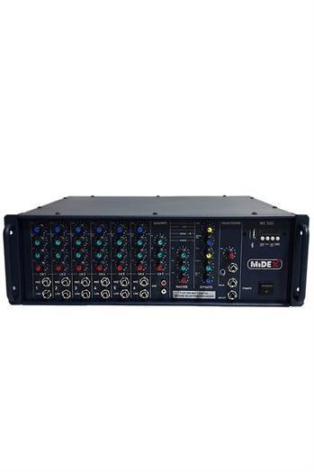 Midex MC-500 Power Mikser Anfi Ekho Reverb 500 Watt Usb Bt