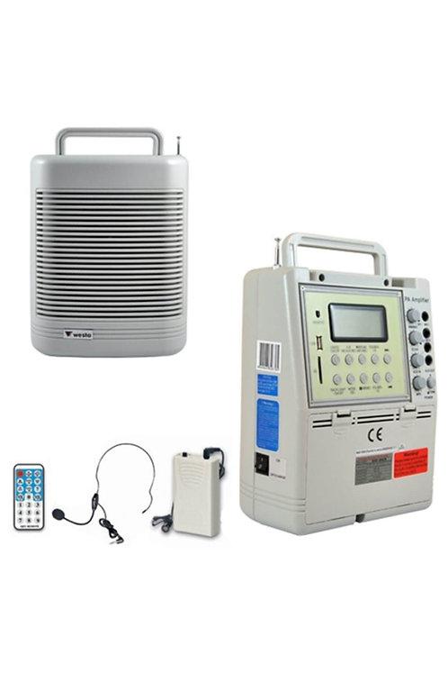 Westa WAP-996UR-L Seyyar Portatif Taşınabilir Ses Sistemi