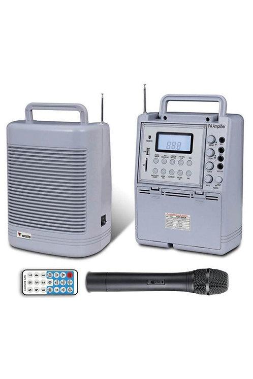 Westa Wap-996UR-H Seyyar Taşınabilir Ses Sistemi