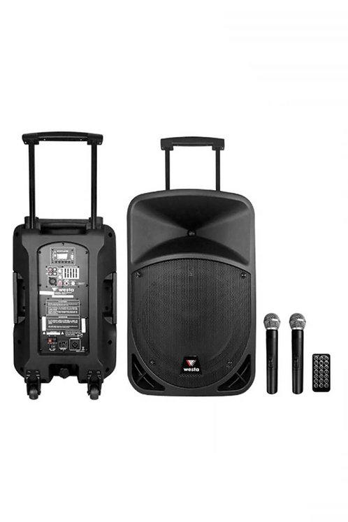 Westa Wap-22502T Taşınabilir Hoparlör Ses Sistemi 400 Watt