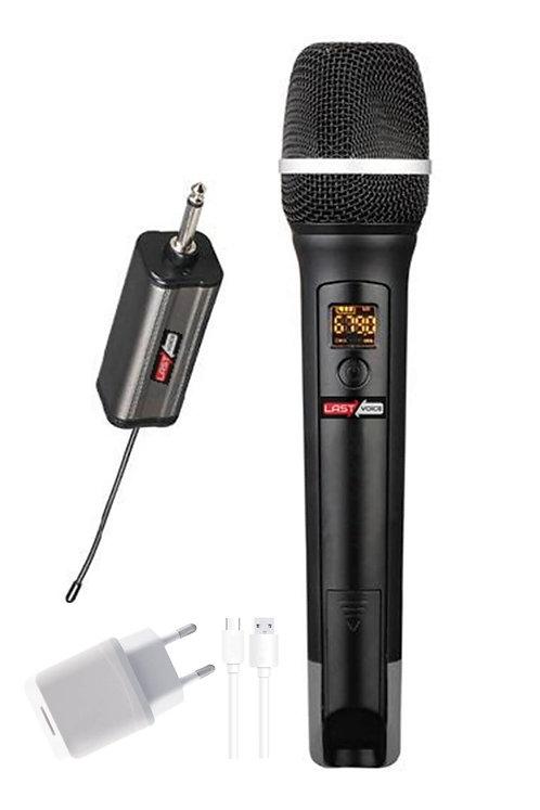 Lastvoice Tx-101E Çok Amaçlı Profesyonel Uhf Kablosuz EL Mikrofon