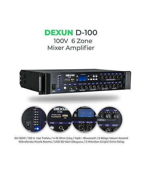 Dexun D-100 120 Watt 6 Bölgeli Mikser Anfi