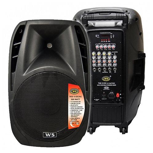 West Sound Tks 15 Dc - Bluetooth Kontrol Taşınabilir Ses Sistemi