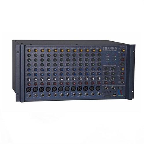 Startech Safran-2000 Power Mikser Anfi 2x1000 Watt 12 Kanal Usb