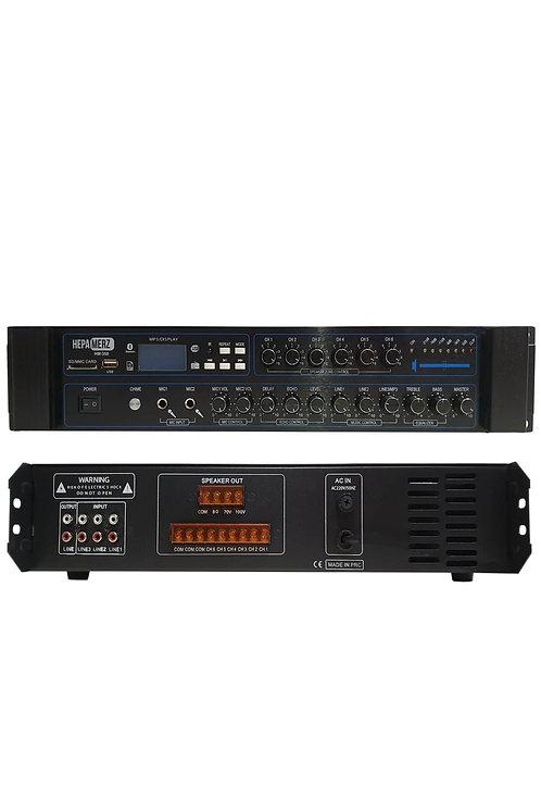 Hepa Merz Hm-350 - 350 Watt 6 Bölgeli Anfi Usb Bluetooth