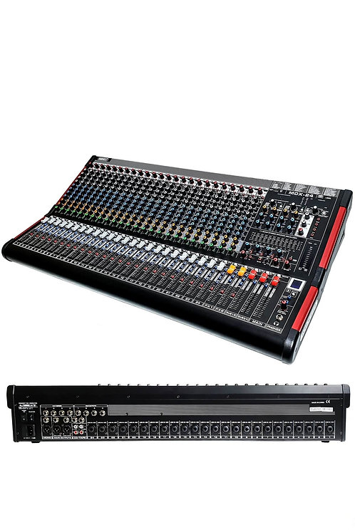 Midex MDX-24 24 Kanal Ses Mikseri 2x99 DSP Efekt EQ 6 Aux Usb-Kayıt