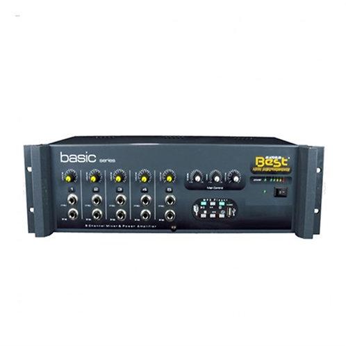 Best Mono Basic AN5250 Anfi 250 Watt 5 Mikrofon Girişli