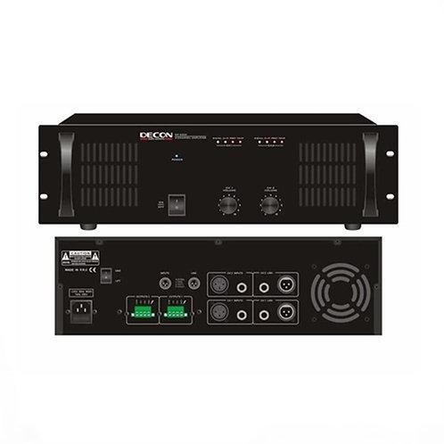 Decon Dp-2500 Power Anfi 2x500W 70/100 Volt 4-16 Ohm